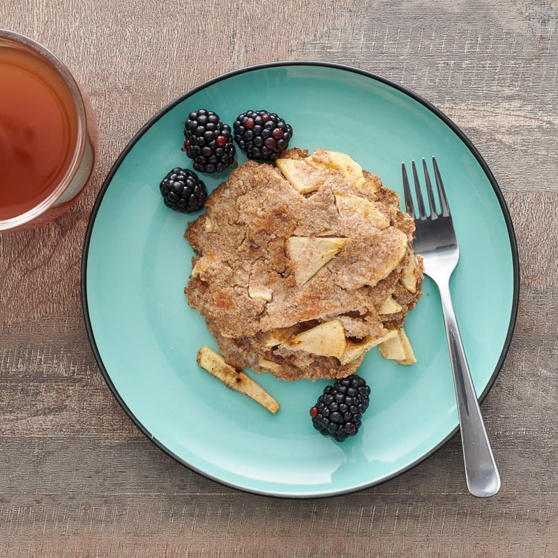 Photo of Matzo Brei with apples and honey by WW