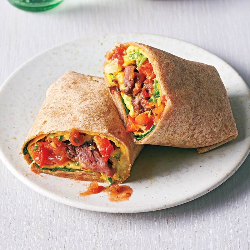 Photo of Steak and egg burrito by WW