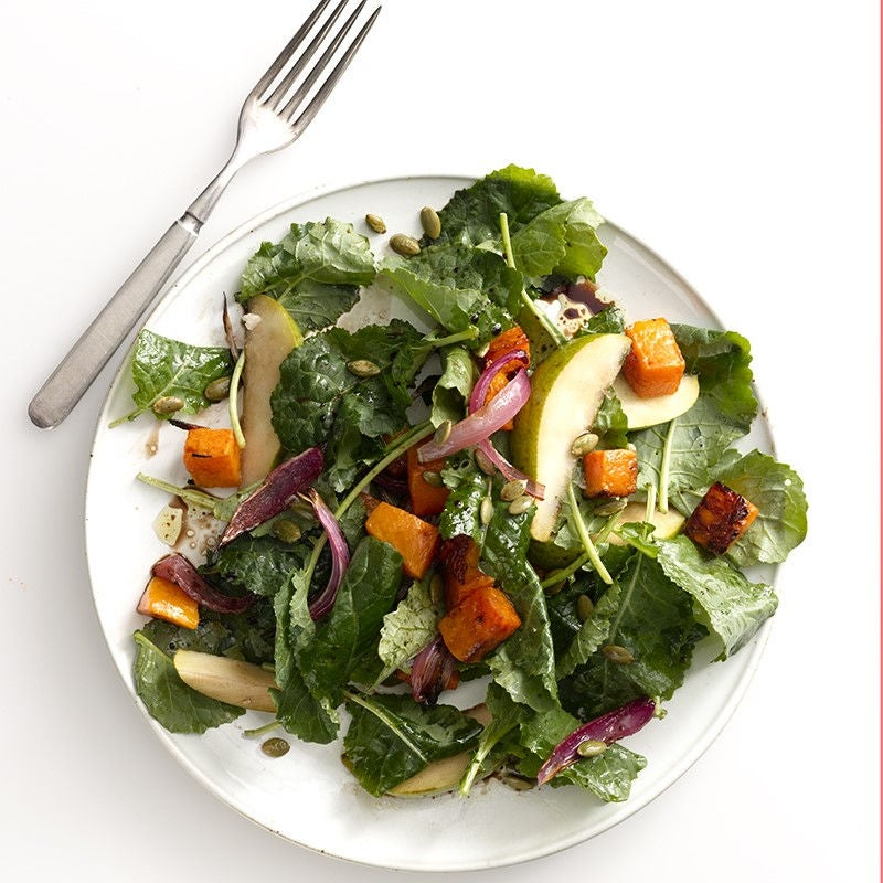 Photo of Kale and roasted squash salad by WW