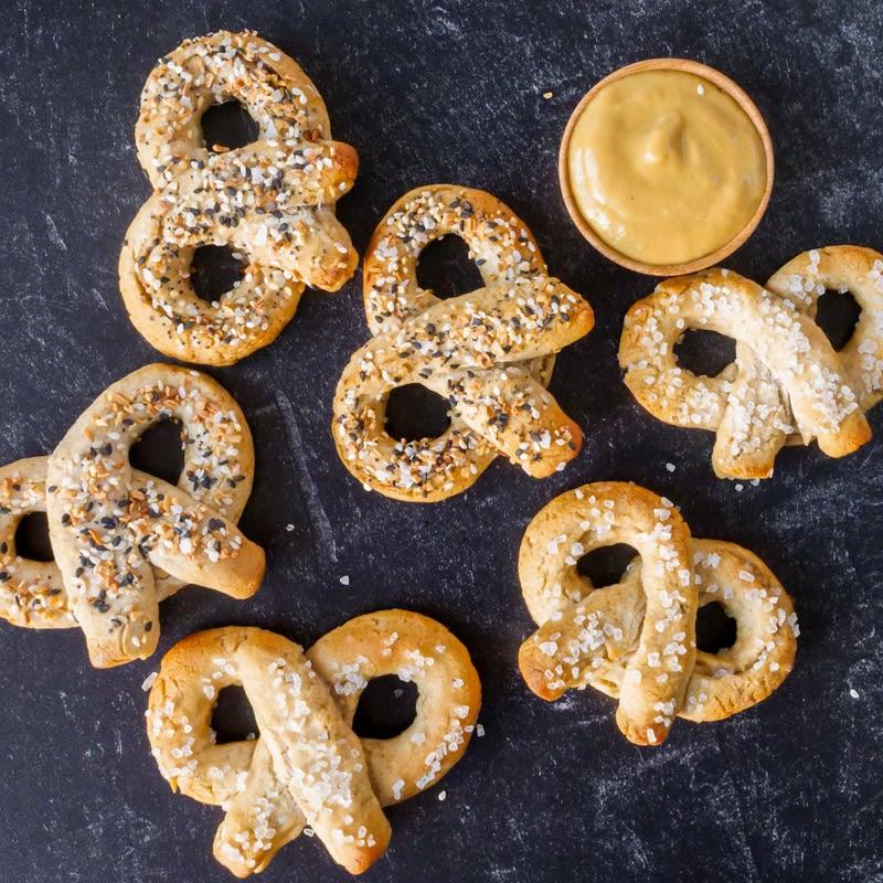 Photo of Vegan, gluten-free soft pretzels by WW