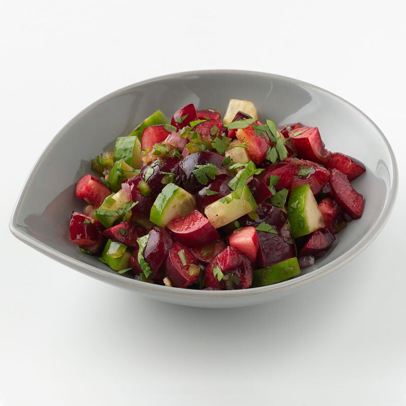Photo of Cherry and cucumber salsa by WW