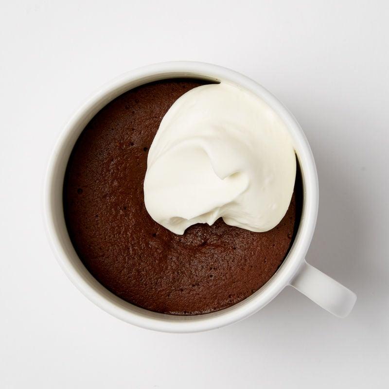 Photo of Flourless Dark Chocolate Mug Cake by WW