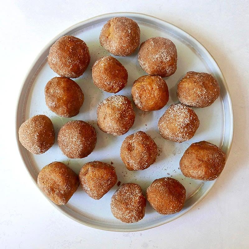 Photo of Pumpkin spice cookie dough bites by WW