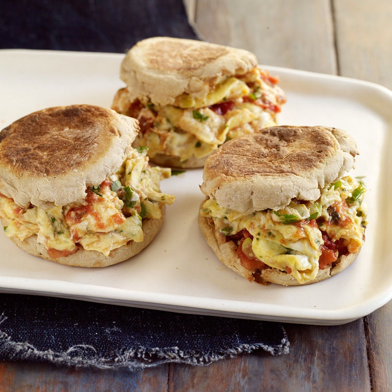 Photo of Mexican scrambled egg sandwiches by WW