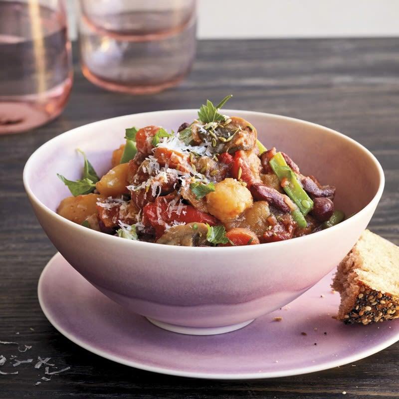 Photo of Italian vegetable-bean stew by WW