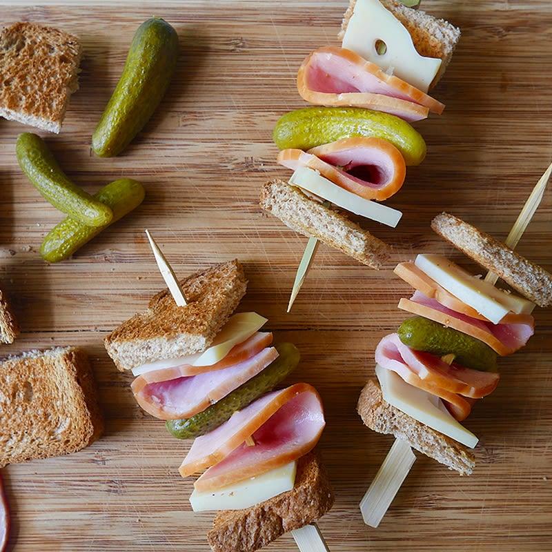 Photo of Cuban sandwich kebabs by WW