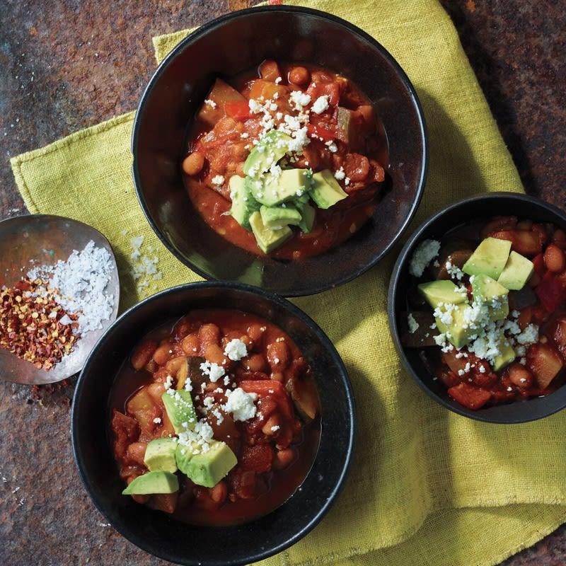 Photo of Bean and Summer Vegetable Soup by WW