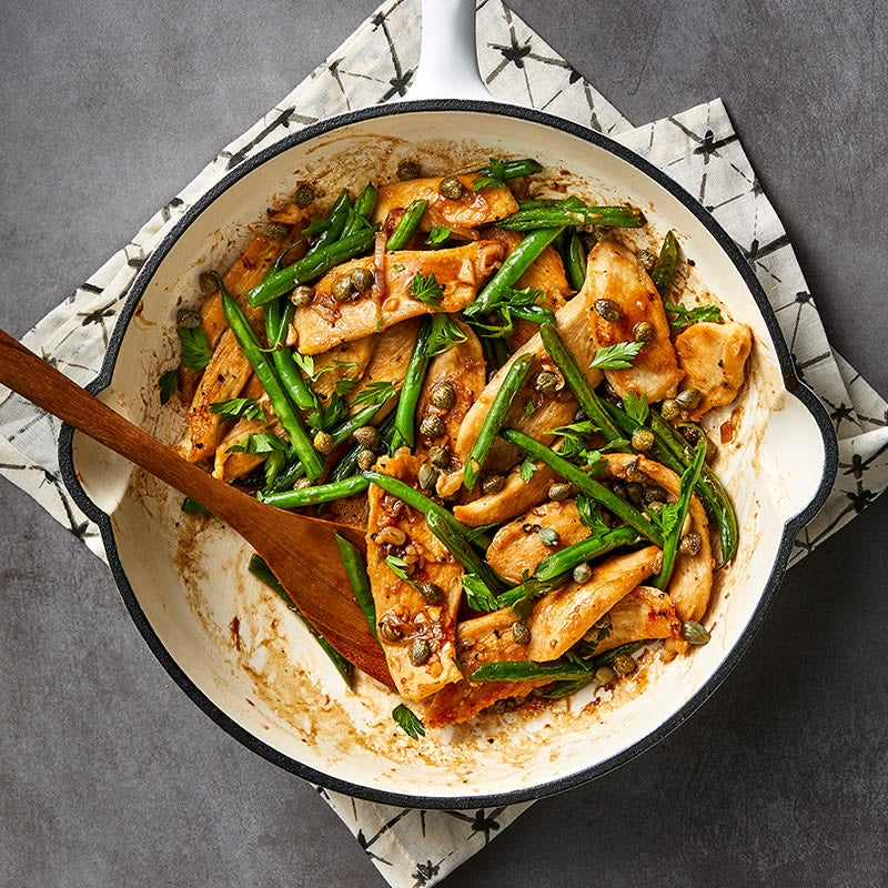 Photo of Chicken piccata stir-fry by WW