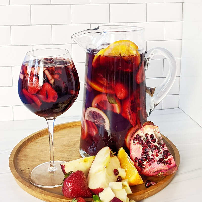 Photo of Kombucha sangria by Millie Peartree by WW