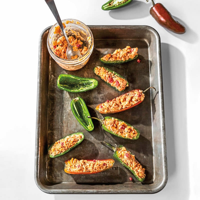 Photo of Pimento cheese–stuffed jalapeños by WW