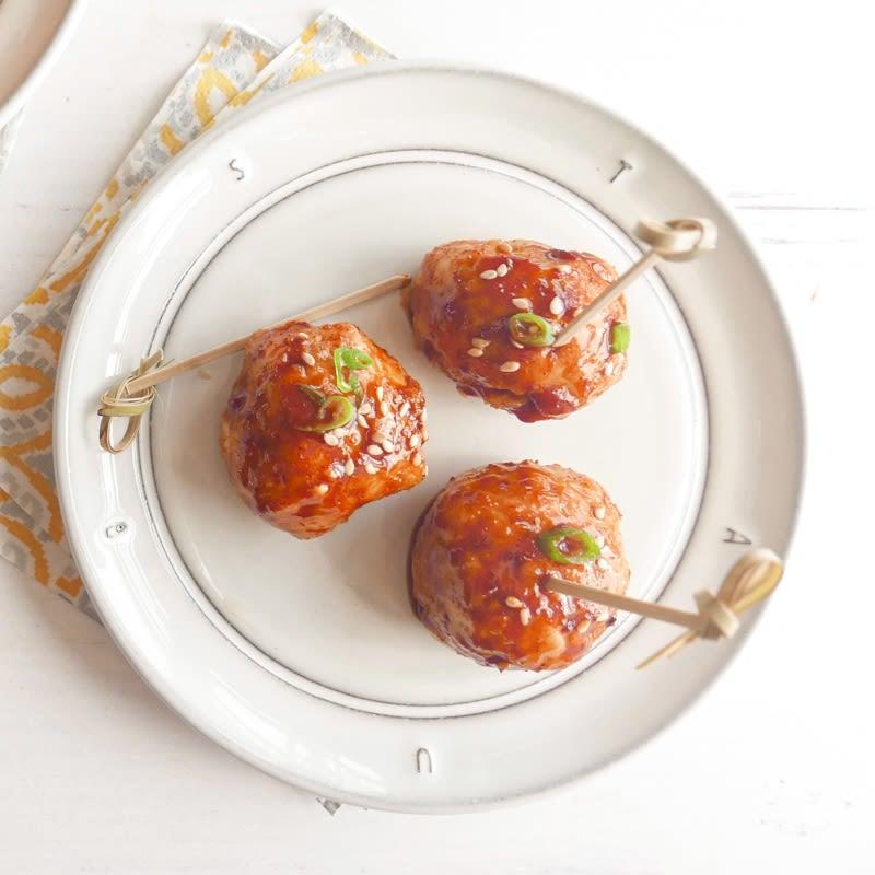 Photo of Korean-glazed meatballs by WW
