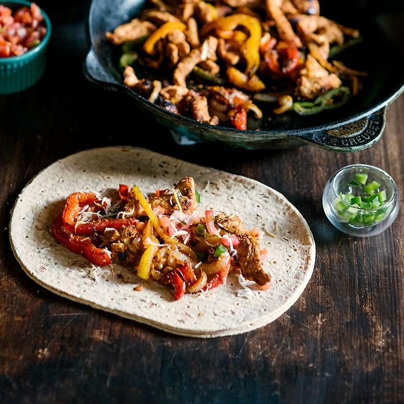 Photo of Chicken and veggie fajitas by WW
