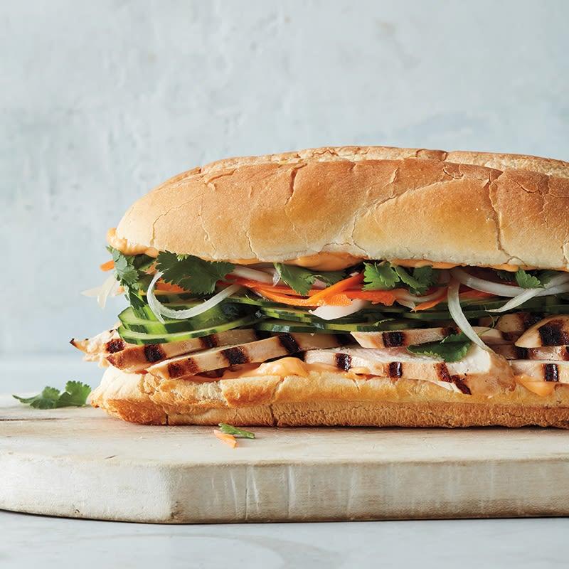 Photo of Chicken bahn mi sandwiches by WW