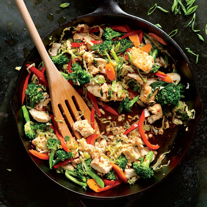 Photo of Catfish and Vegetable Stir-Fry by WW