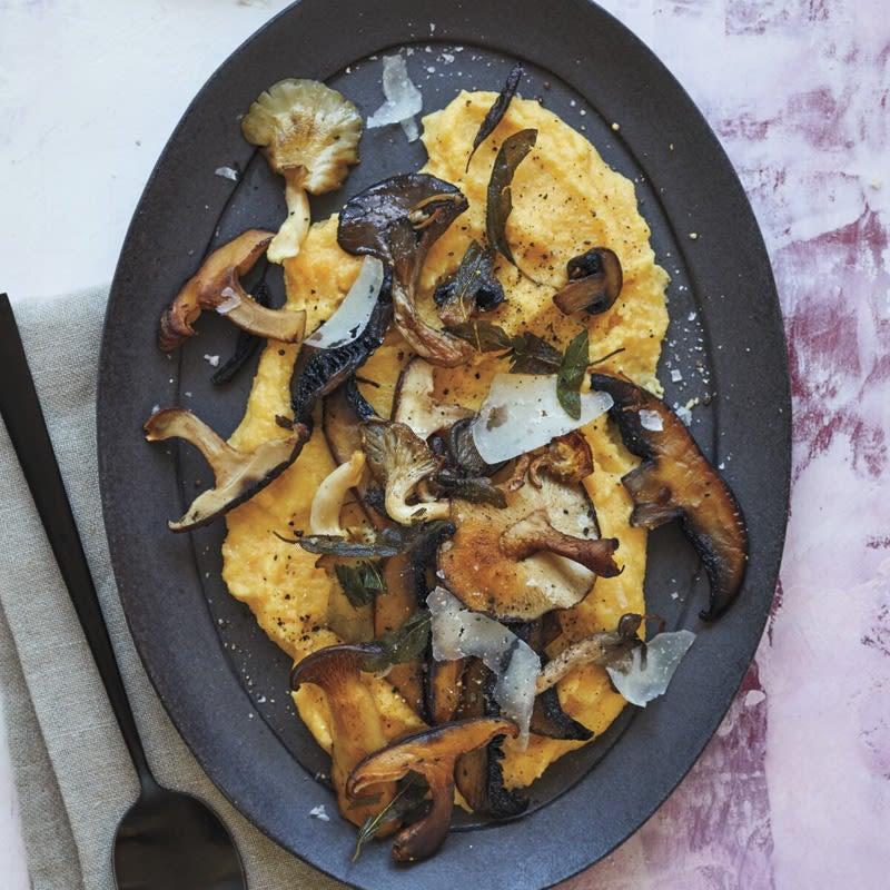 Photo of Soft Polenta with pecorino and mushrooms by WW