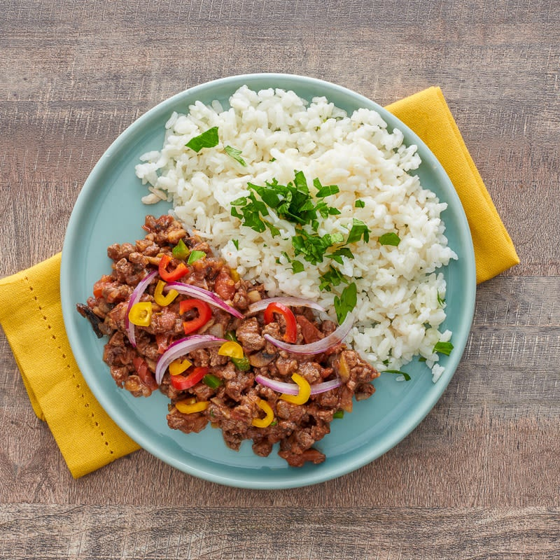 Photo of Picadillo and rice by WW