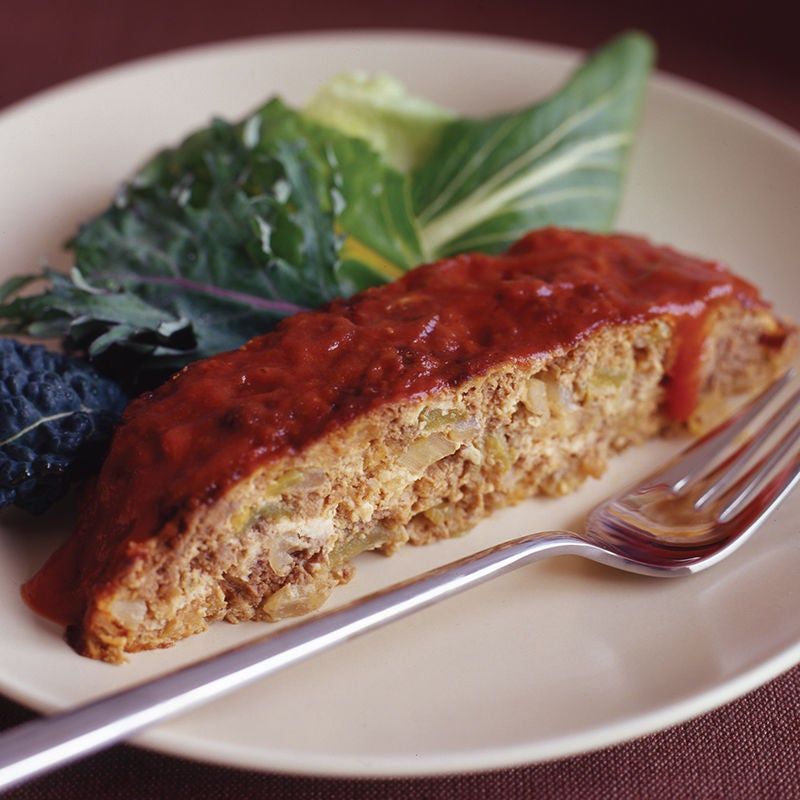 Photo of Turkey meat loaf with onion and green pepper by WW