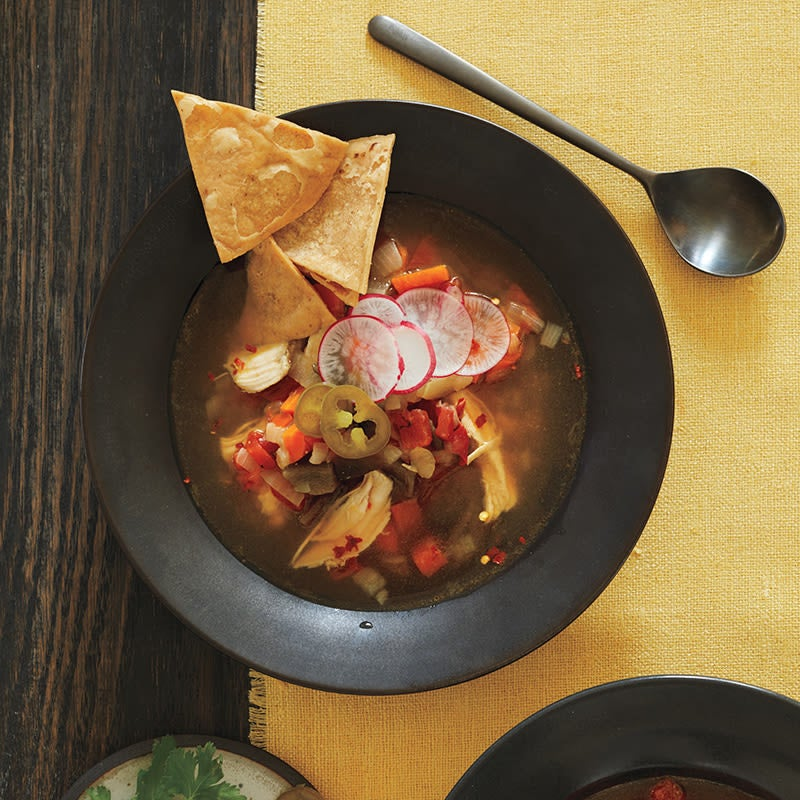 Photo of Slow Cooker Mexican chicken soup by WW