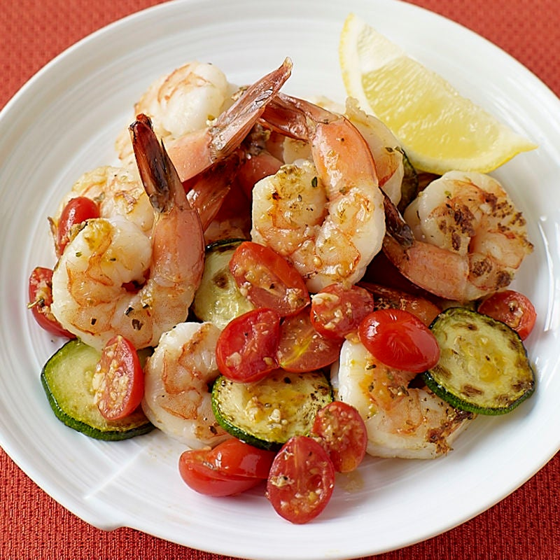 Photo of Shrimp with Zucchini and Tomatoes by WW
