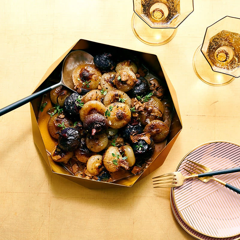 Photo of Porcini-braised onions by WW