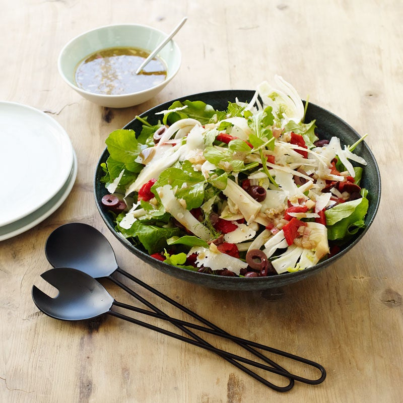 Photo of Fennel & roasted pepper salad with arugula & parmesan by WW