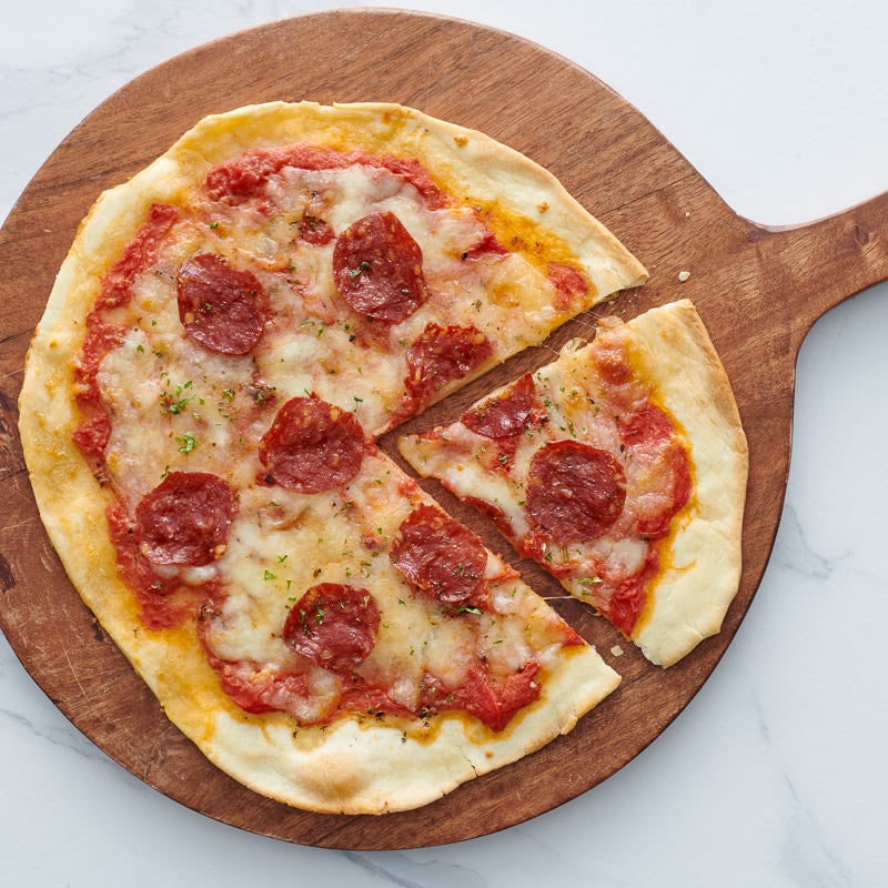 Photo of Turkey pepperoni pizza by WW