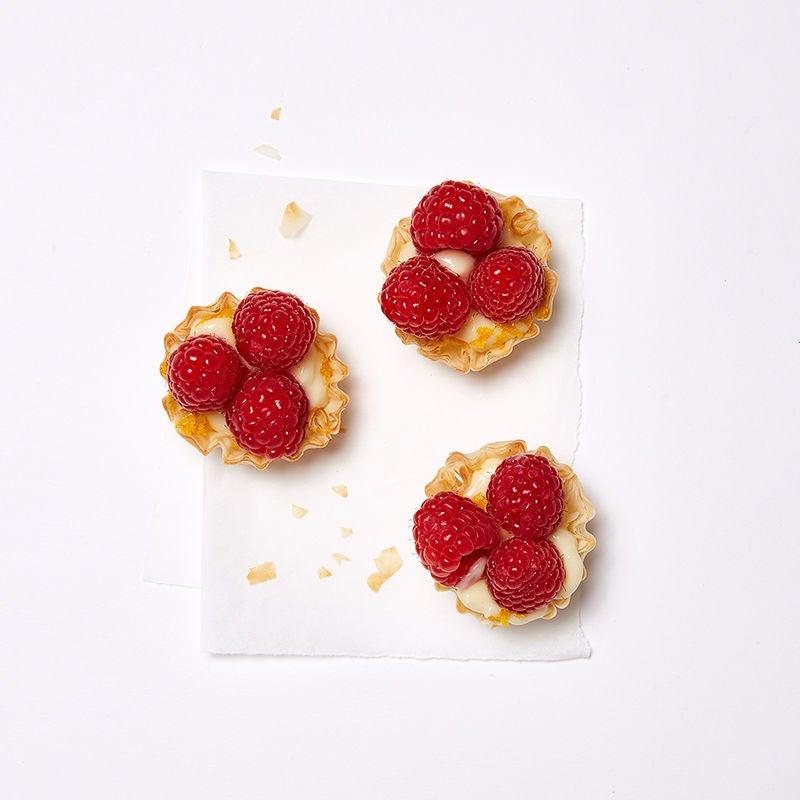 Photo of Raspberry, orange, and cream tartlets by WW