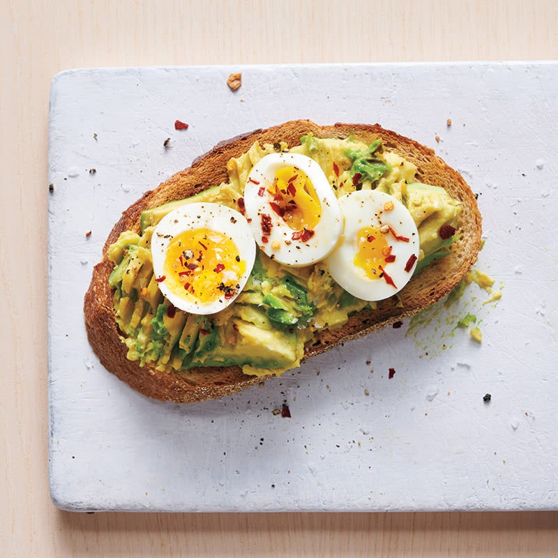 Photo of Smashed Avocado and Egg Toast by WW