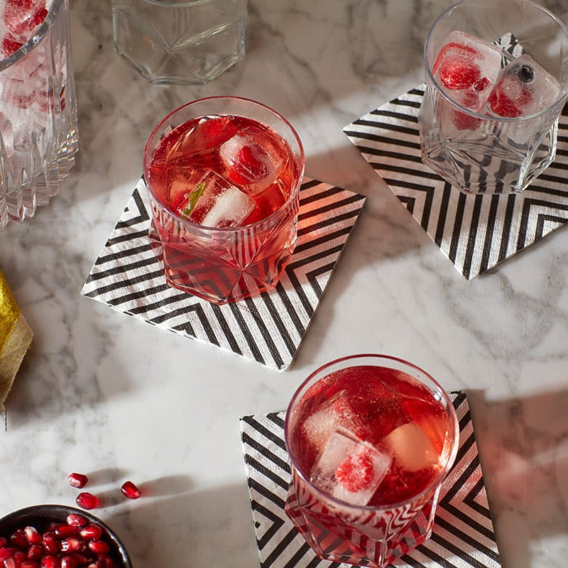 Photo of Hibiscus pomegranate punch with Cense Wine by WW