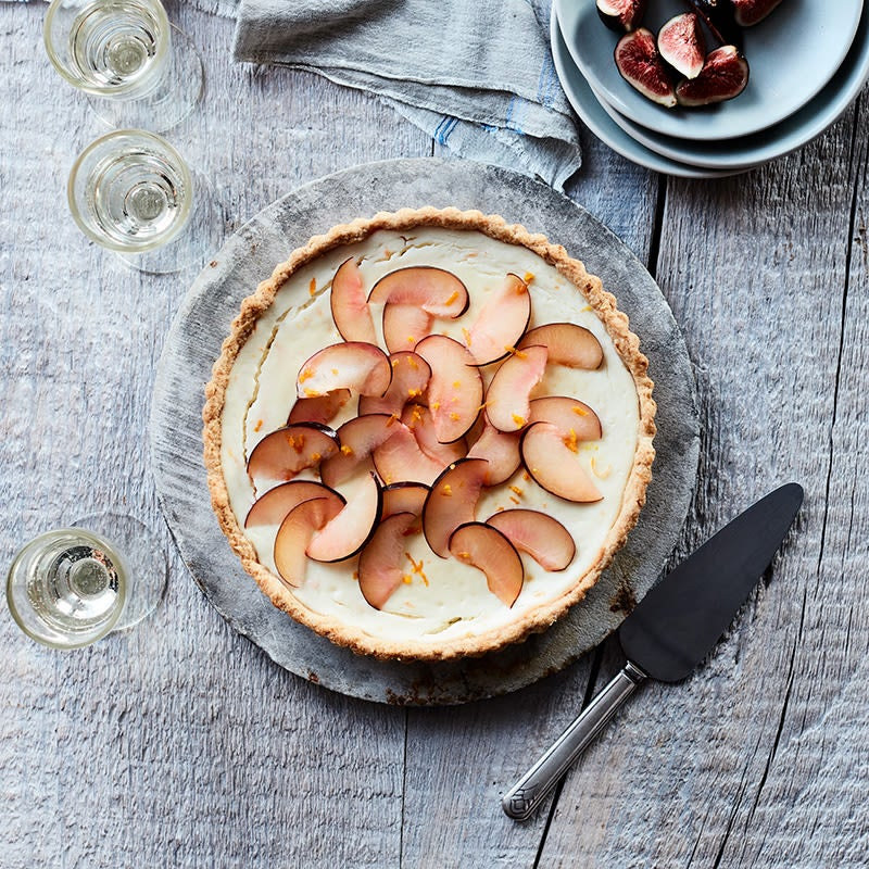 Photo of Ricotta tart with candied orange peel by WW