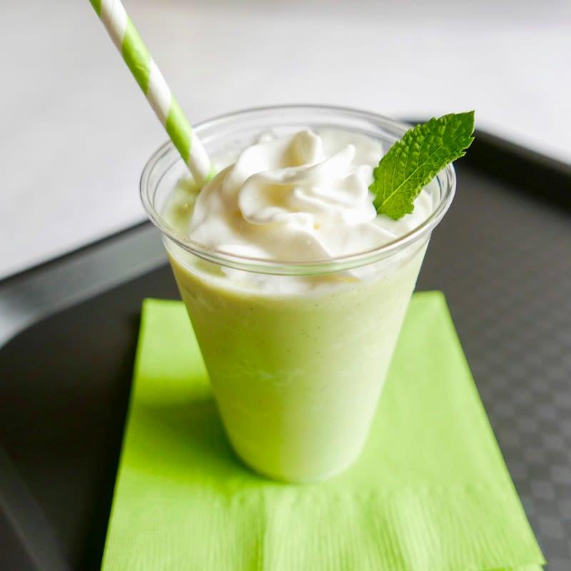 Photo of Minty vanilla shake by WW