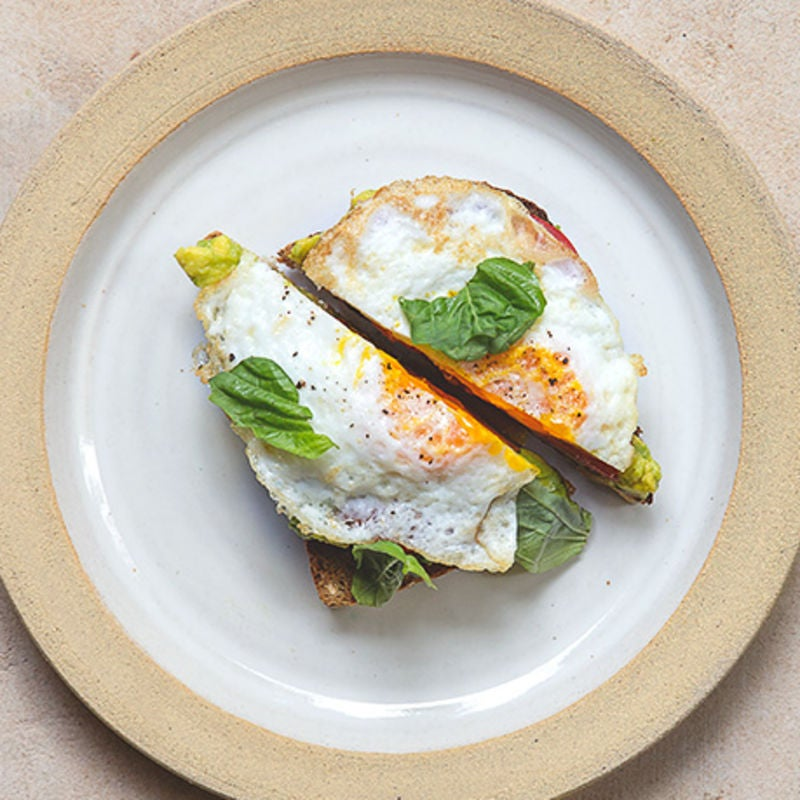 "Photo of ""The Usual"" - Egg Sandwich by WW"