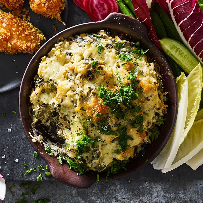 Photo of Hot spinach-artichoke dip by WW