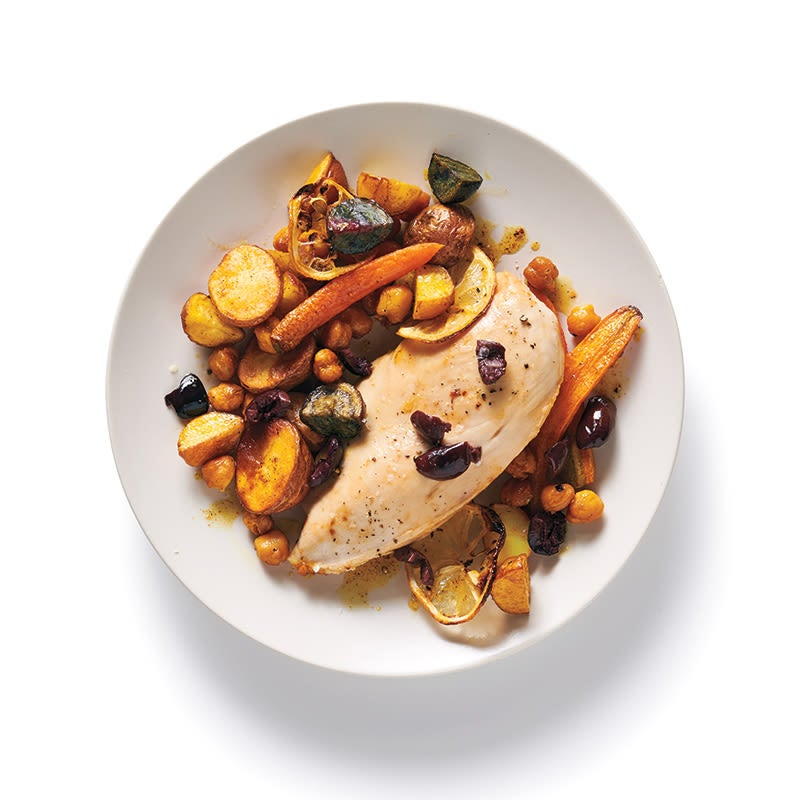Photo of Moroccan sheet pan chicken by WW