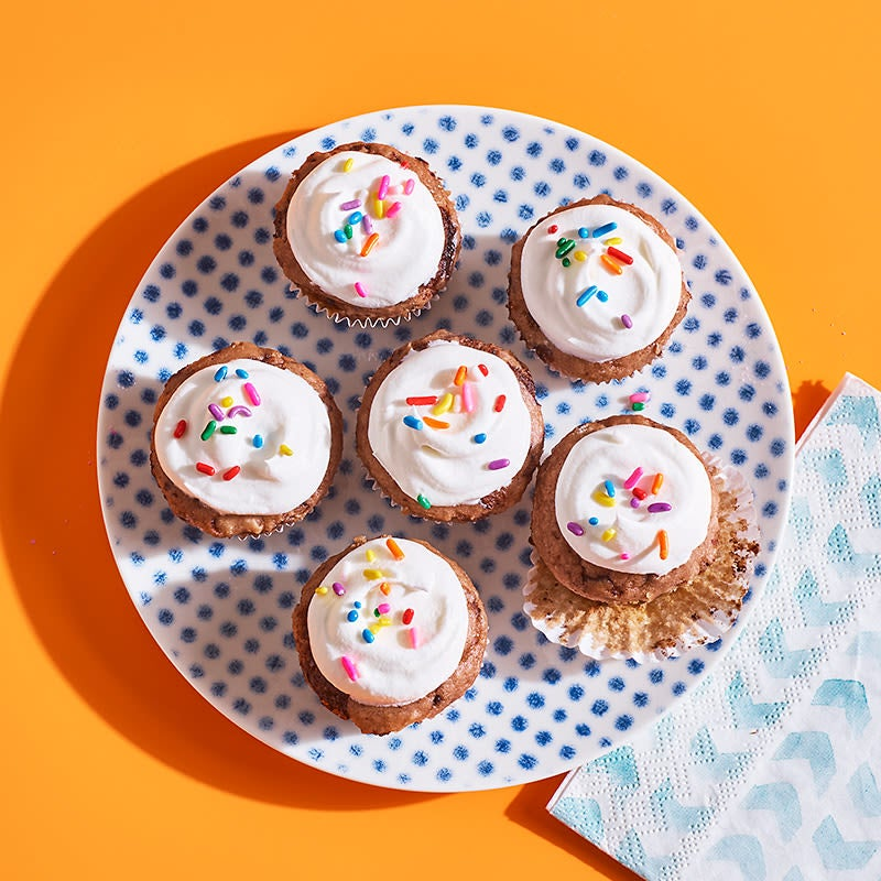 Photo of Two-Ingredient Ice Cream Cupcake Bites by WW