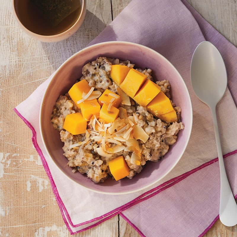 Photo of Multigrain hot cereal with mango by WW