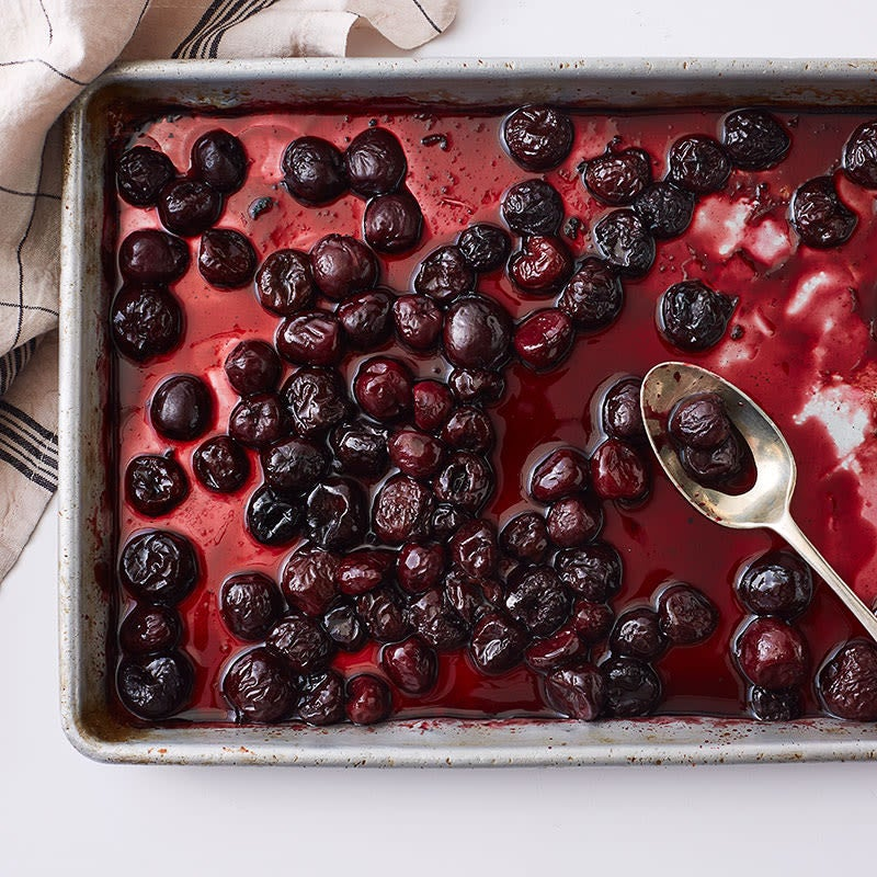 Photo of Roasted cherry-vanilla sauce by WW
