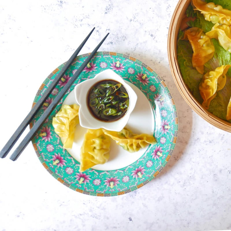 Photo of Turkey and bok choy dumplings by WW