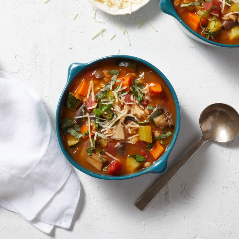 Photo of Italian-inspired vegetable soup by WW