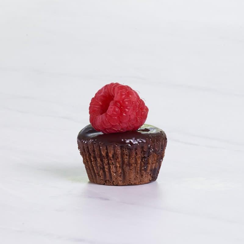 Photo of WW mini chocolate cupcakes with chocolate ganache by WW