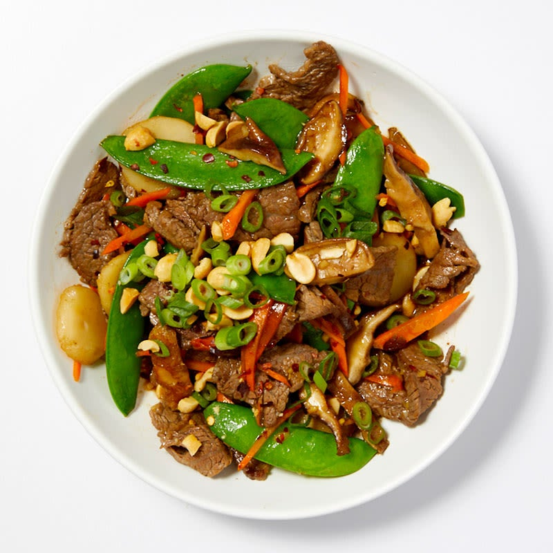 Photo of Beef and vegetable stir-fry by WW