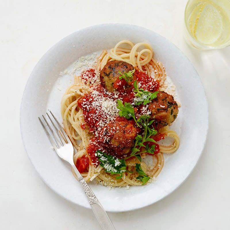 Photo of Spaghetti with Turkey Meatballs by WW