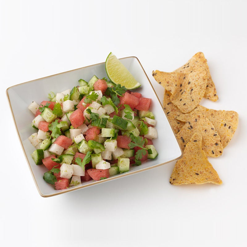 Photo of Jicama, Watermelon and Cucumber Salsa  by WW