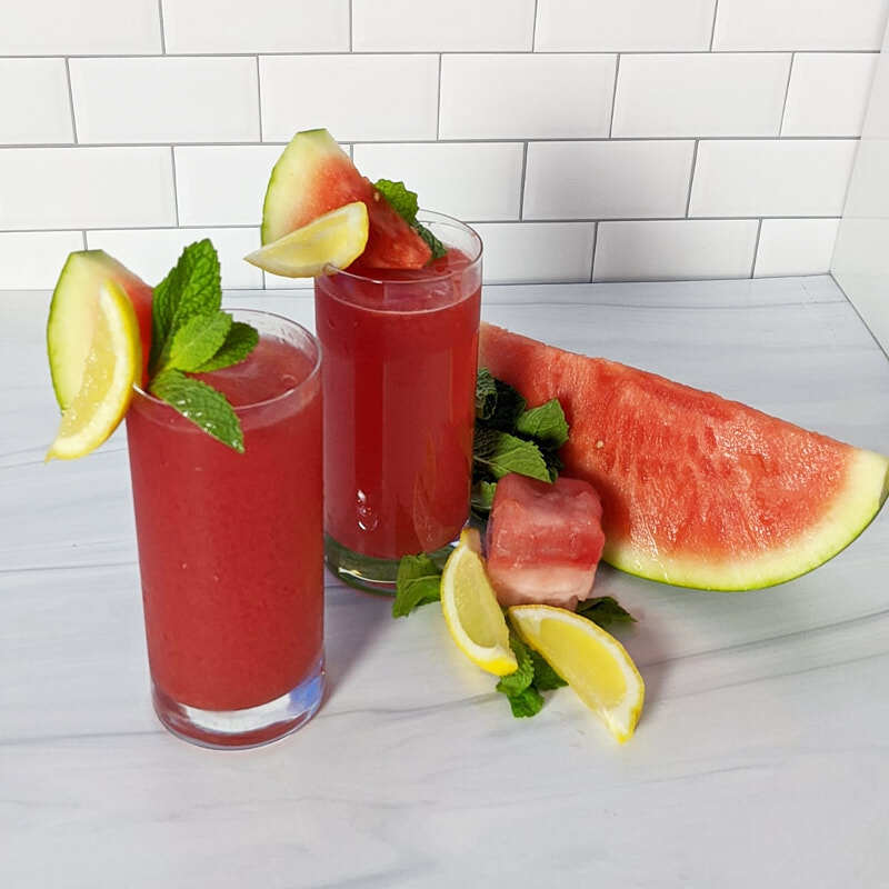 Photo of Spiked watermelon-mint lemonade by Millie Peartree by WW