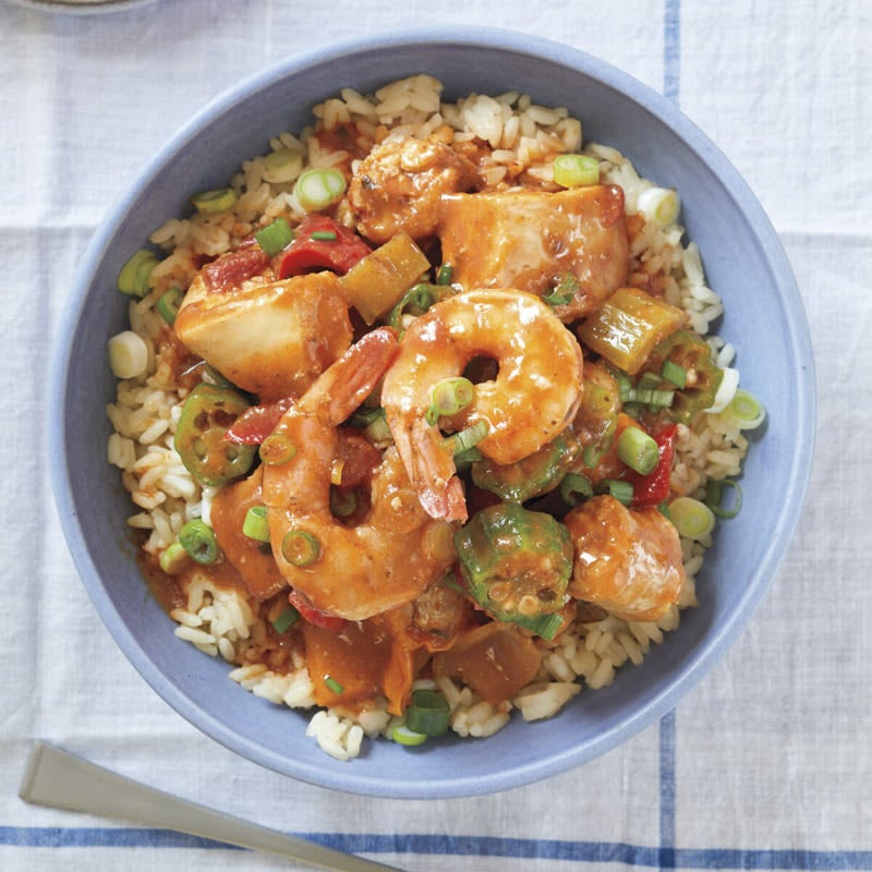 Photo of Sausage, chicken, and shrimp stew by WW