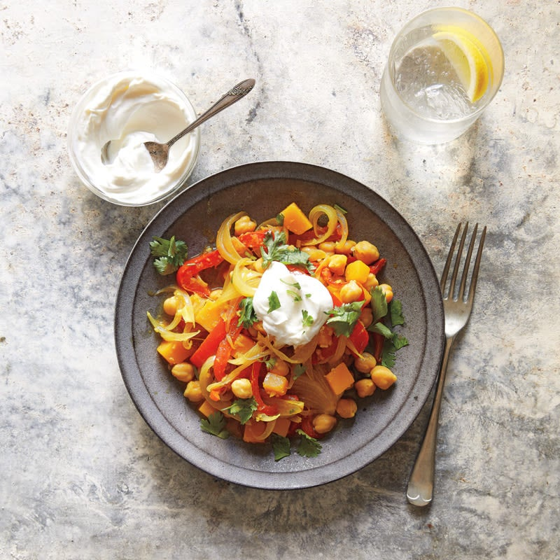 Photo of Butternut Squash & Chickpea Vegetable Curry by WW