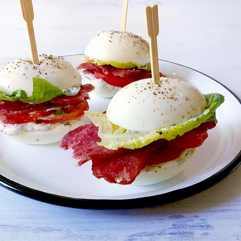 Photo of BLT egg sliders by WW