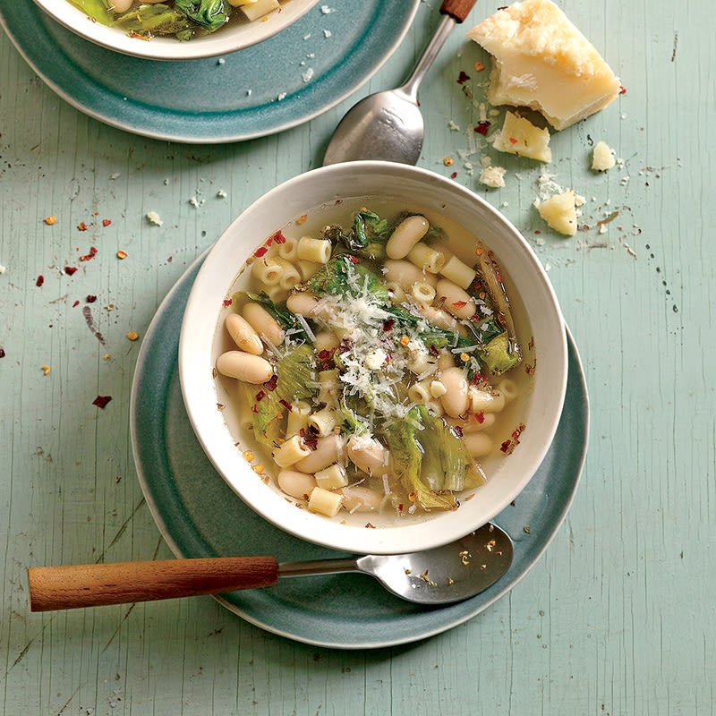 Photo of Pasta soup with cannellini and escarole by WW