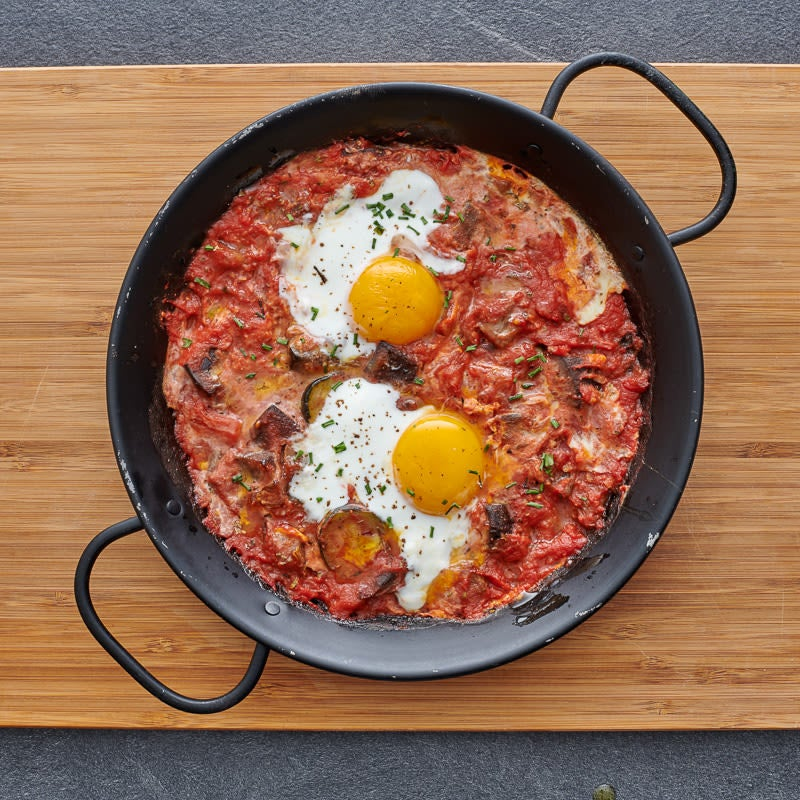 Photo of Skillet ratatouille with eggs by WW