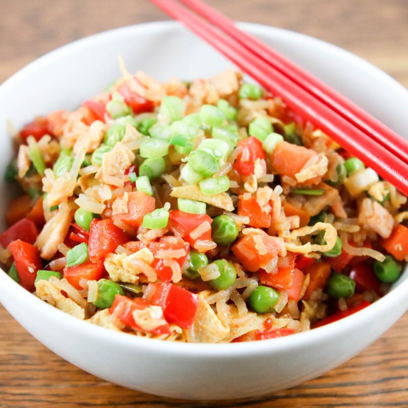 Photo of Pork and veggie fried Skinny rice by WW